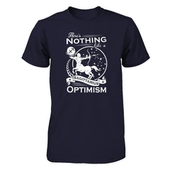 There's Nothing Like a Sagittarius Optimism Next Level - Unisex Fitted Tee / Midnight Navy / XS Shirts