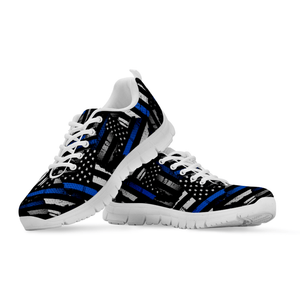 Thin Blue Line Sneakers Shoes