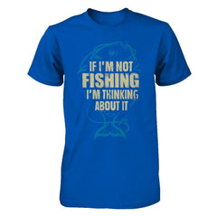 Thinking About Fishing - Men Royal / XS Shirts
