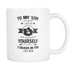 To my Son - Mom To my Son - Mom Mugs