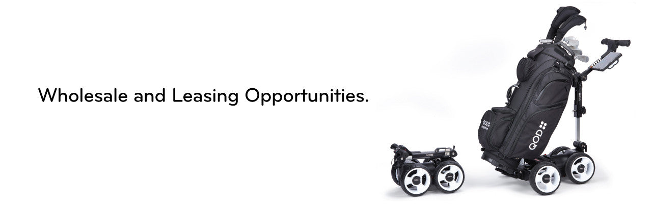 Wholesale and Leasing options for motorized golf push carts