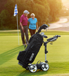 electric golf push carts for walkers