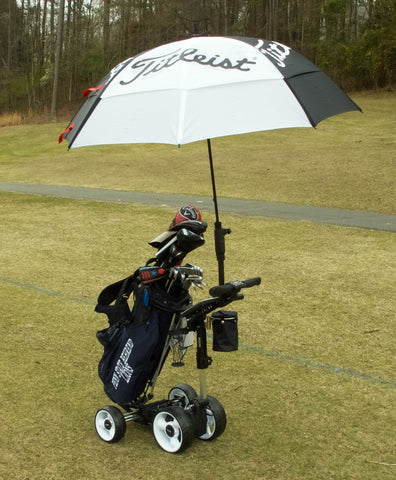 Electric Golf Caddy With Umbrella