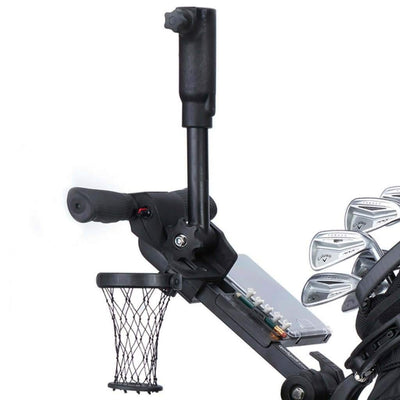 Electric Golf Caddy Accessories Extended Umbrella Holder