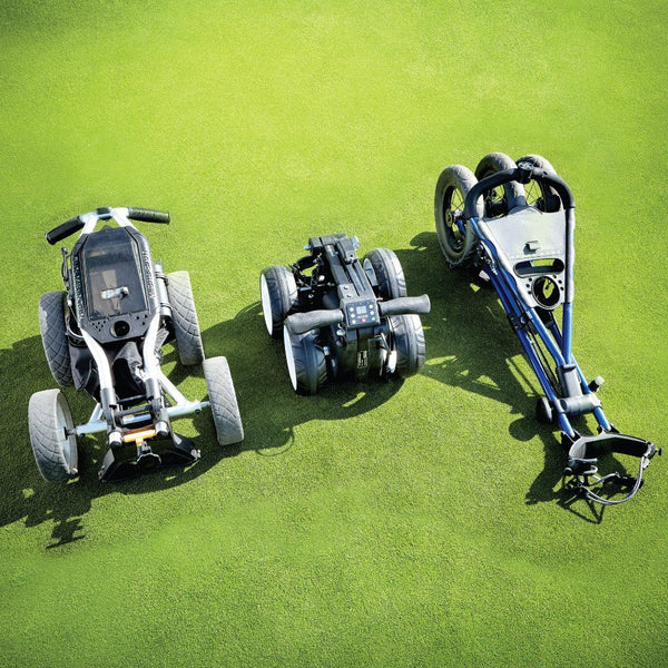 smallest electric motorized golf cart
