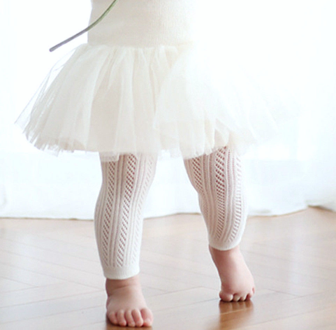 FOOTLESS [white] Tights
