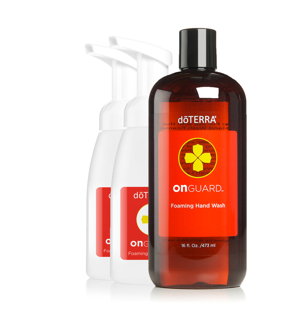 dōTERRA On Guard Foaming Hand Wash with 2 Dispensers