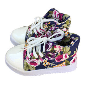 ROSE [navy] Hightops