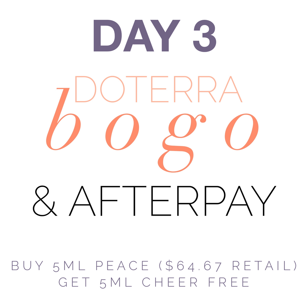 DoTERRA BOGO Day 3
