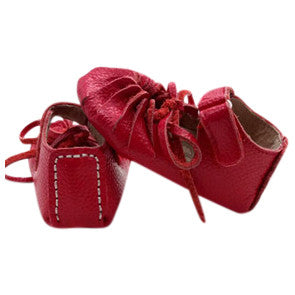 AMELIA [magenta] Leather Sandal Moccs
