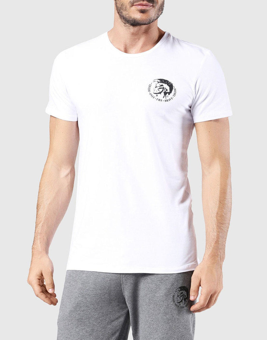 Diesel Frank Essential White T-Shirt - Subwear