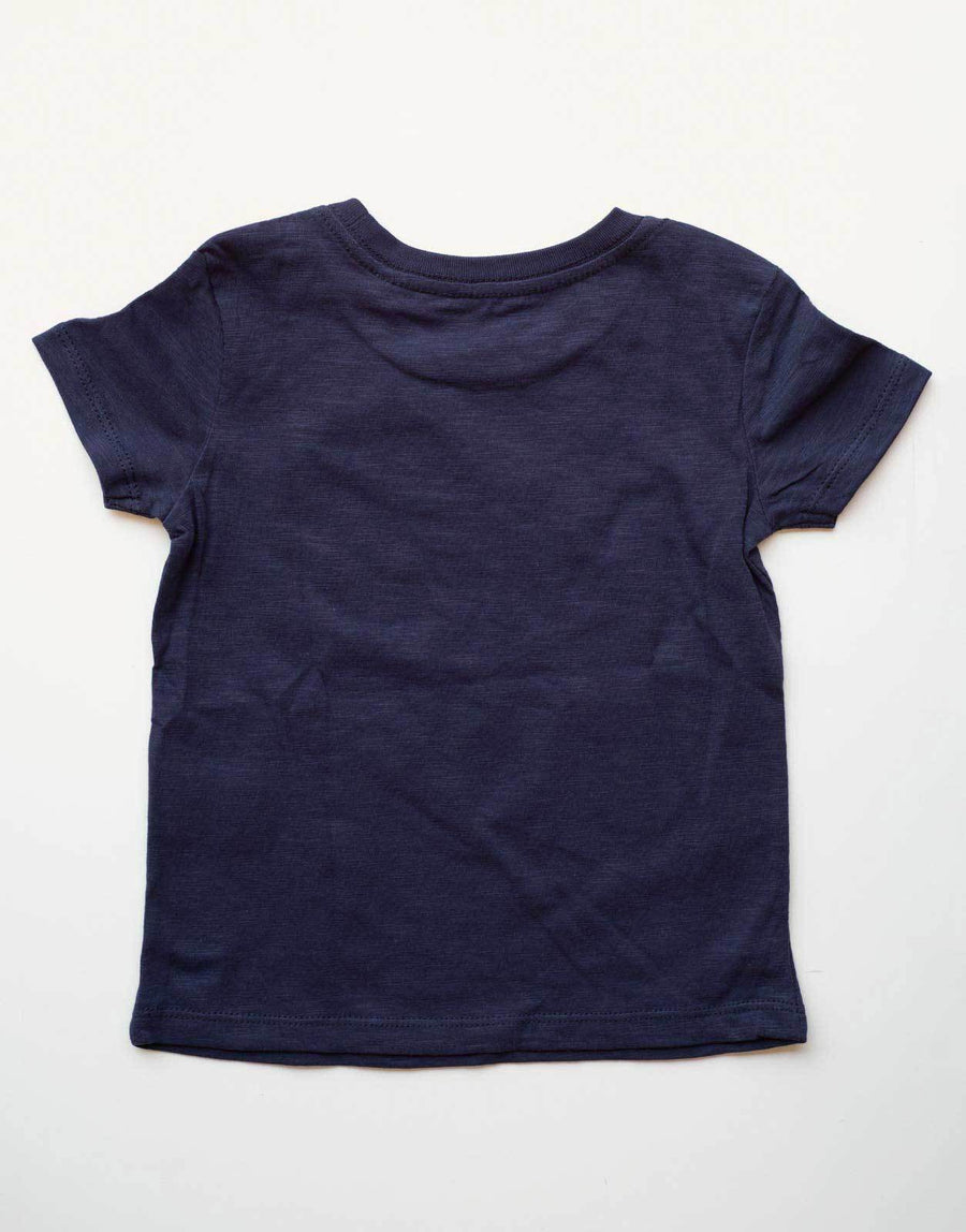 Guess Kids Circular Blue T-Shirt