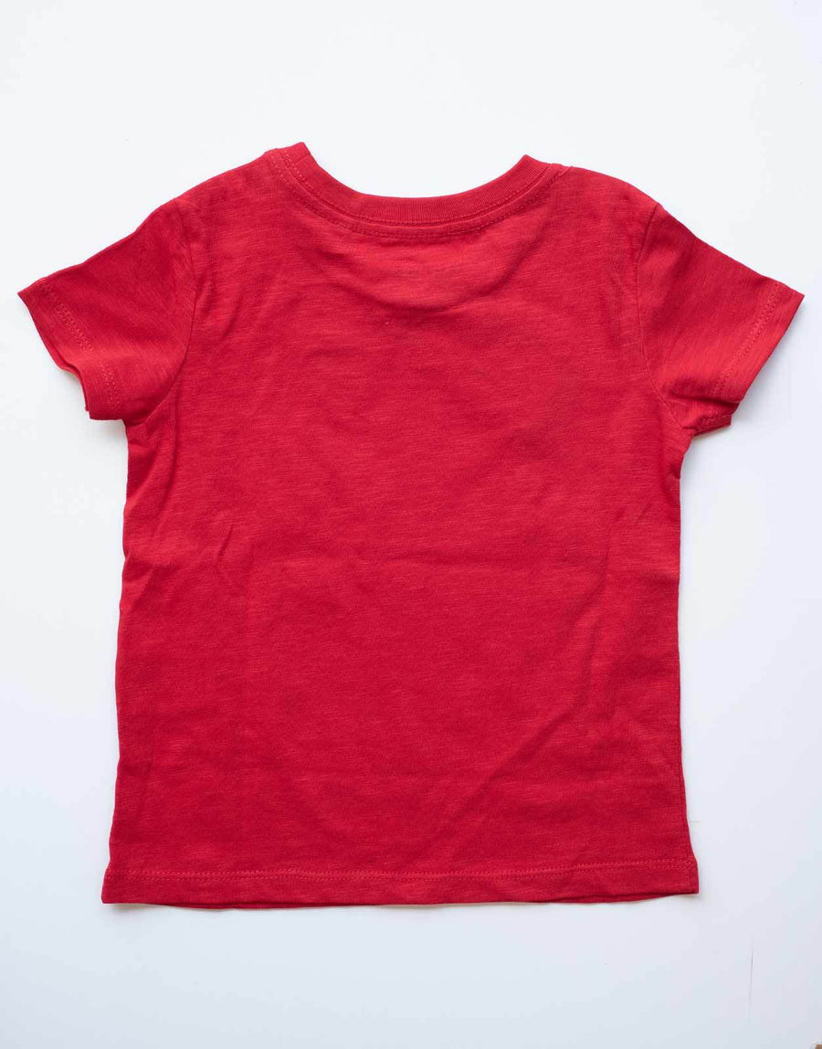 Guess Kids Circular Red T-Shirt