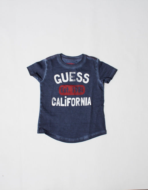 Guess Boys Gunner California T-Shirt - Subwear