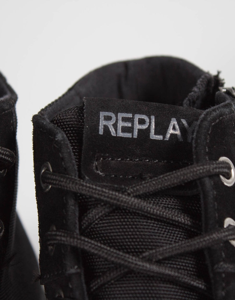 Replay Room Dock Black Sneaker
