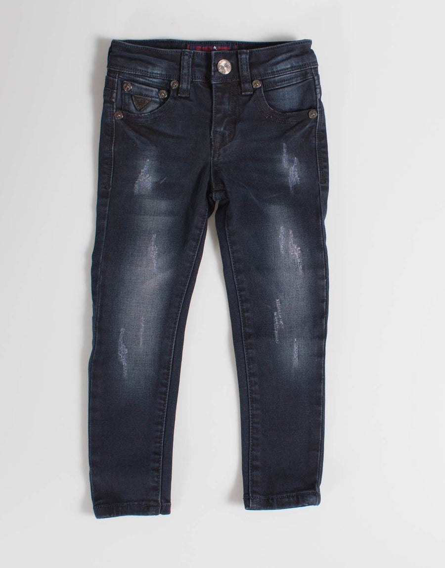 Soviet Stretch Blue Black Jeans