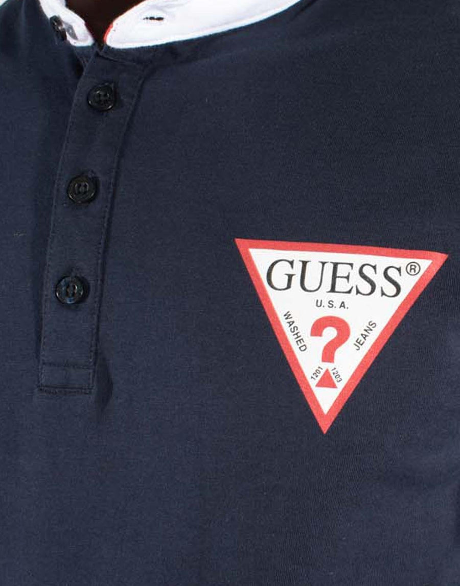 Guess Triangle Polo Shirt