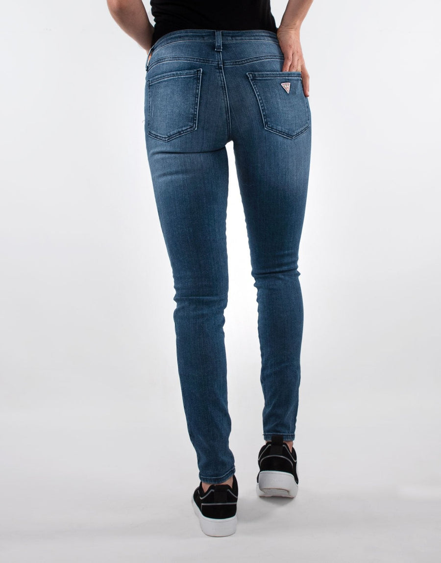 Guess Ripped Fashion Sexy Curve Jeans