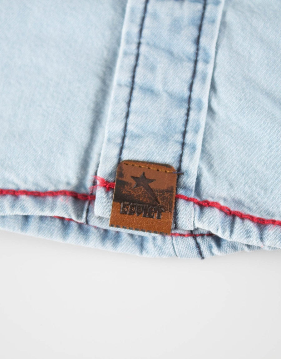Soviet Boys L/S Denim Shirt