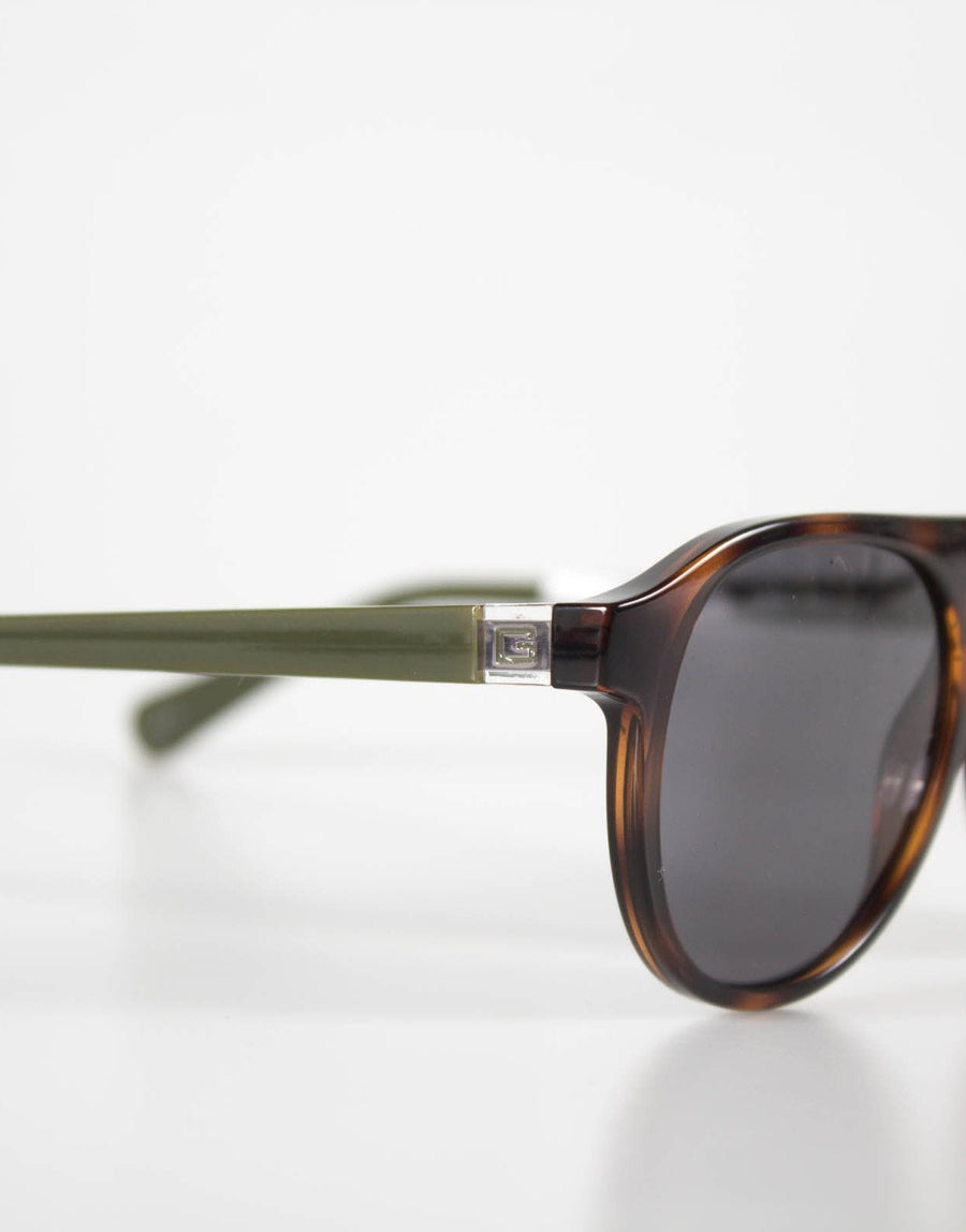 Guess Round Frame Brown Sunglasses