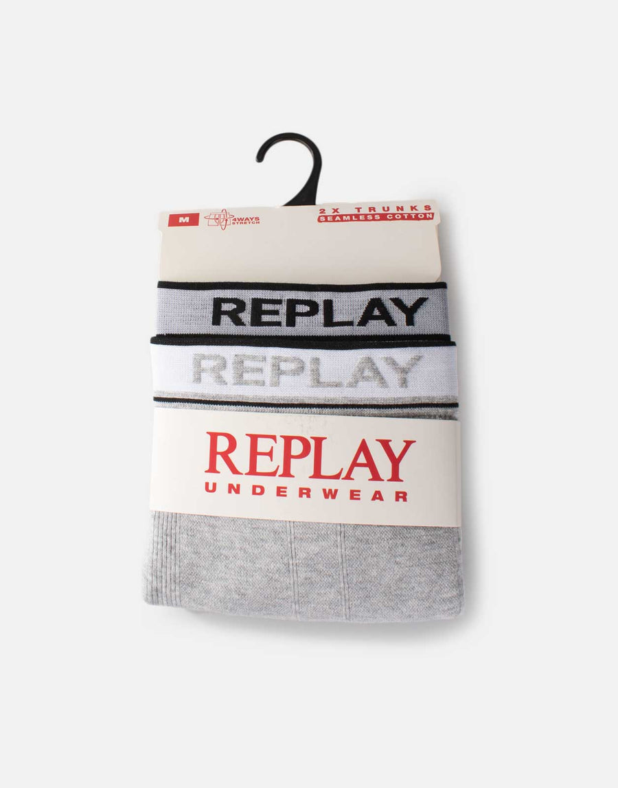 Replay 2 Pack Trunks Underwear