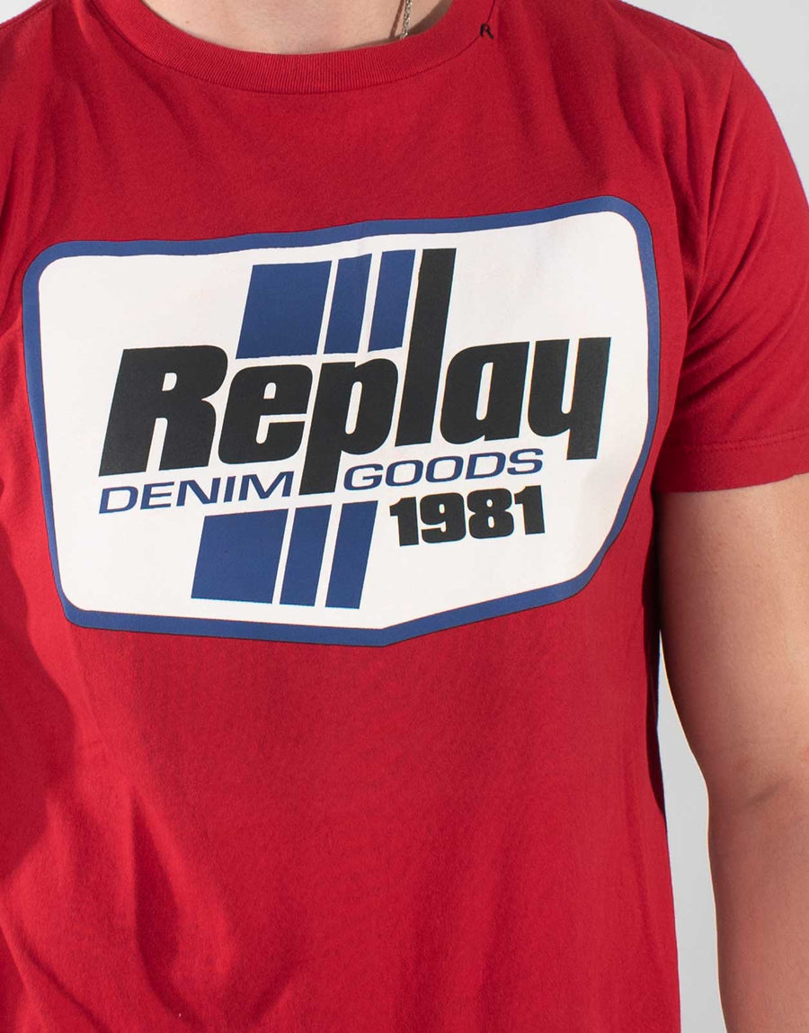 Replay Denim Goods T-Shirt