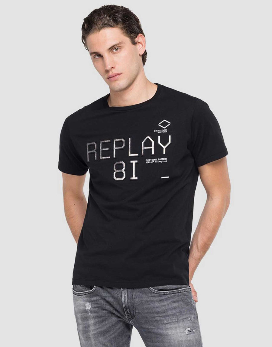 Replay 3D Sparkle T-Shirt