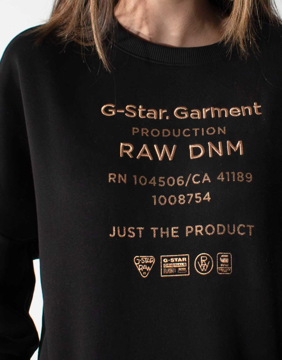 G-Star RAW Text Relaxed Sweatshirt