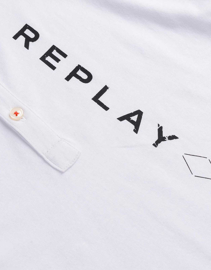 Replay Kids Torn T-Shirt