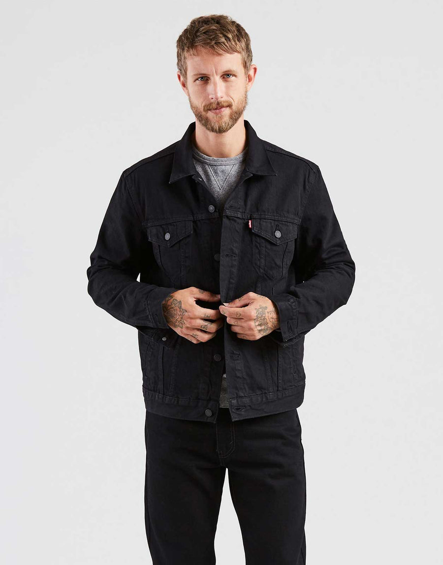 Levis Berkman Trucker Denim Jacket