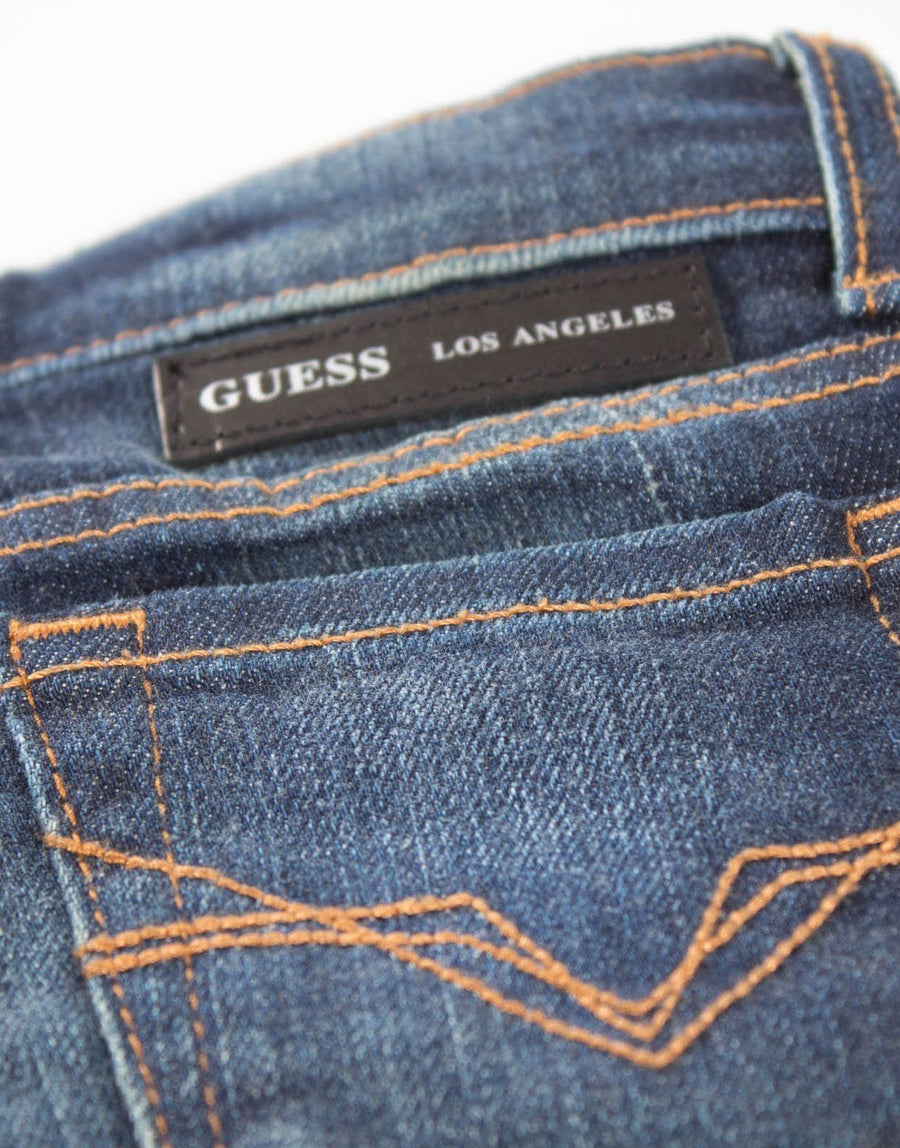 Guess Kids Skinny Blue Jeans