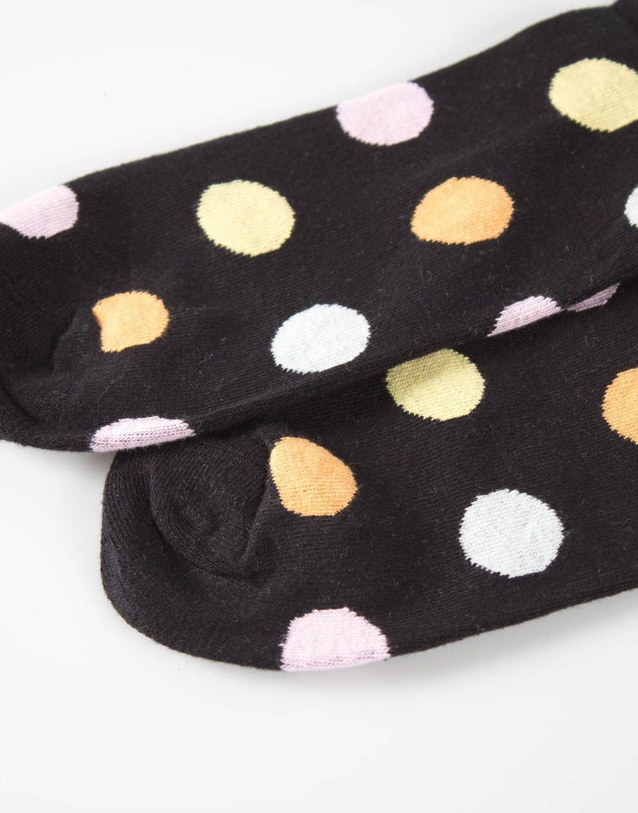 FF Black Multi Polka Socks - Subwear