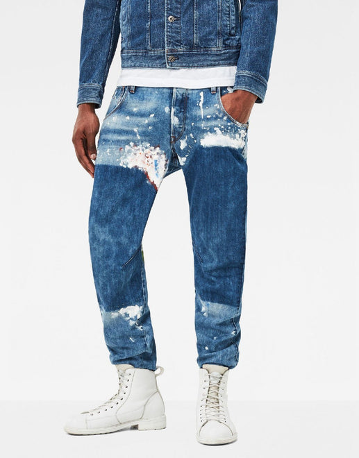 G-Star RAW Arc 3D Splatter Jean