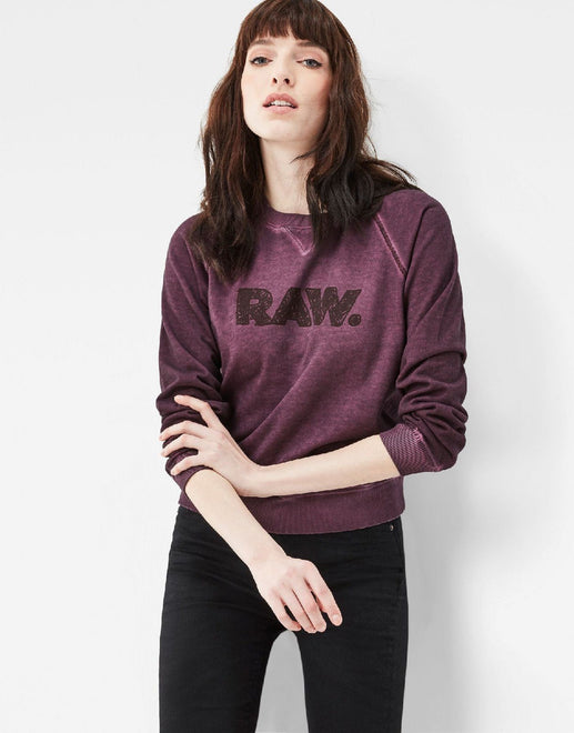 G-Star RAW Daefera Cropped Sweatshirt - Subwear