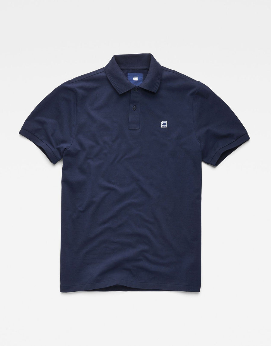 G-Star RAW Dunda Blue Polo Shirt - Subwear
