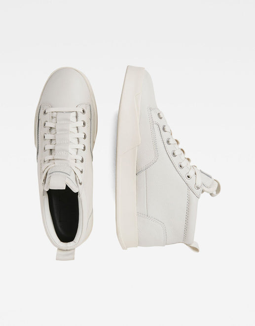 G-Star RAW Rackam Leather Core Mid Sneakers - Subwear