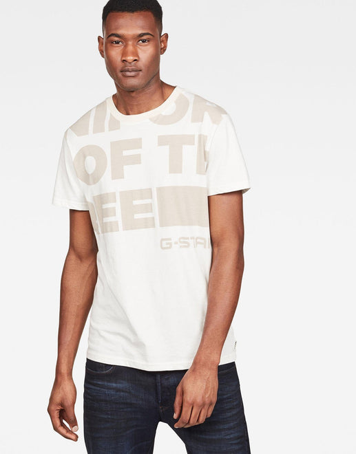G-Star RAW Graphic 11 White T-Shirt - Subwear