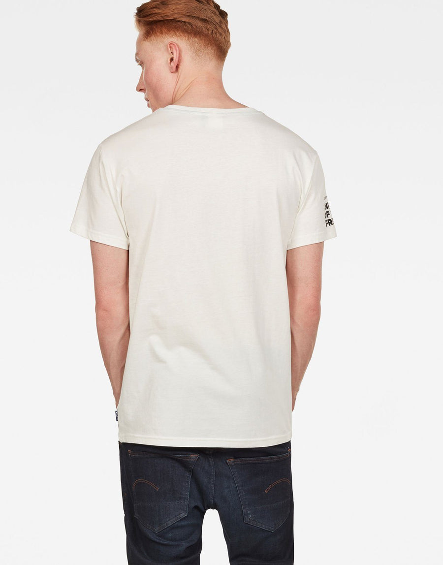 G-Star RAW Graphic 16 White T-Shirt - Subwear