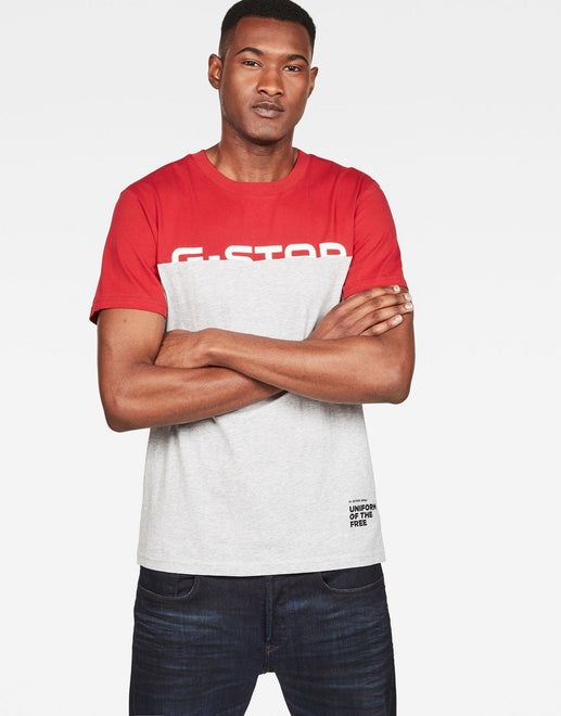 G-Star RAW Graphic 13 Red T-Shirt - Subwear