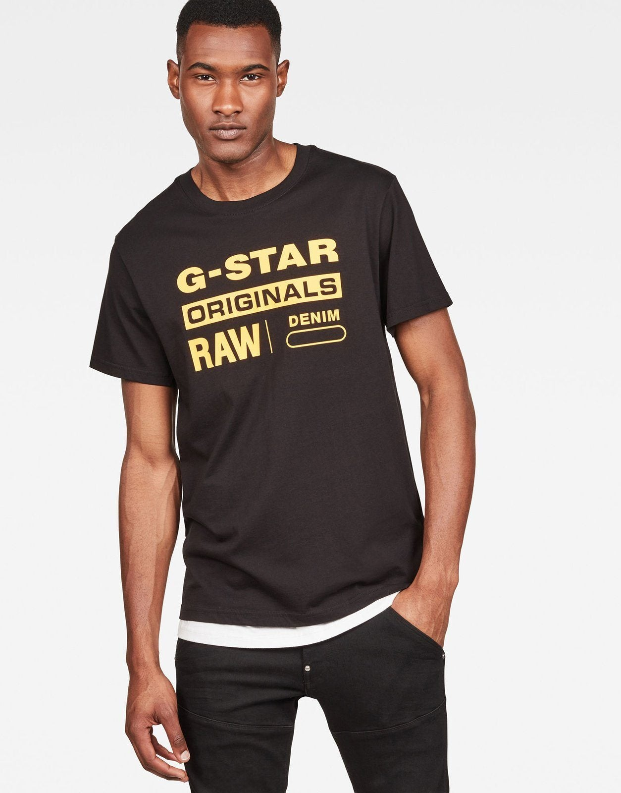 reputable site ed058 a31cd G-Star RAW Graphic 8 T-Shirt
