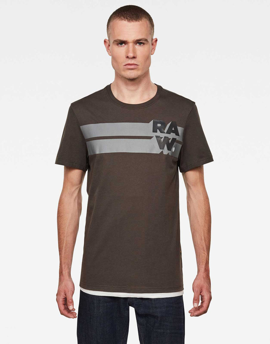 G-Star RAW Stripe Graphic T-Shirt