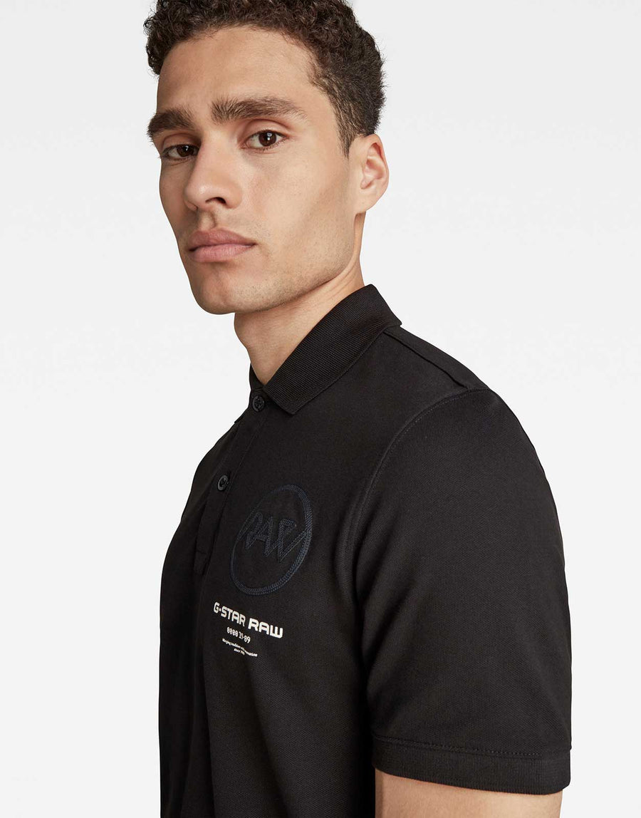 G-Star RAW Graphic Polo Shirt