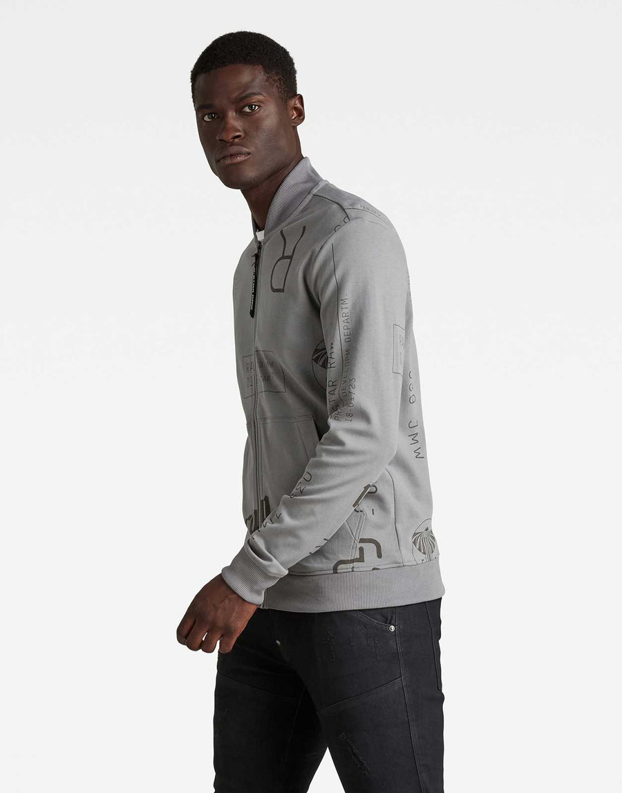 G-Star RAW Extreme Ao Baseball Sweatshirt