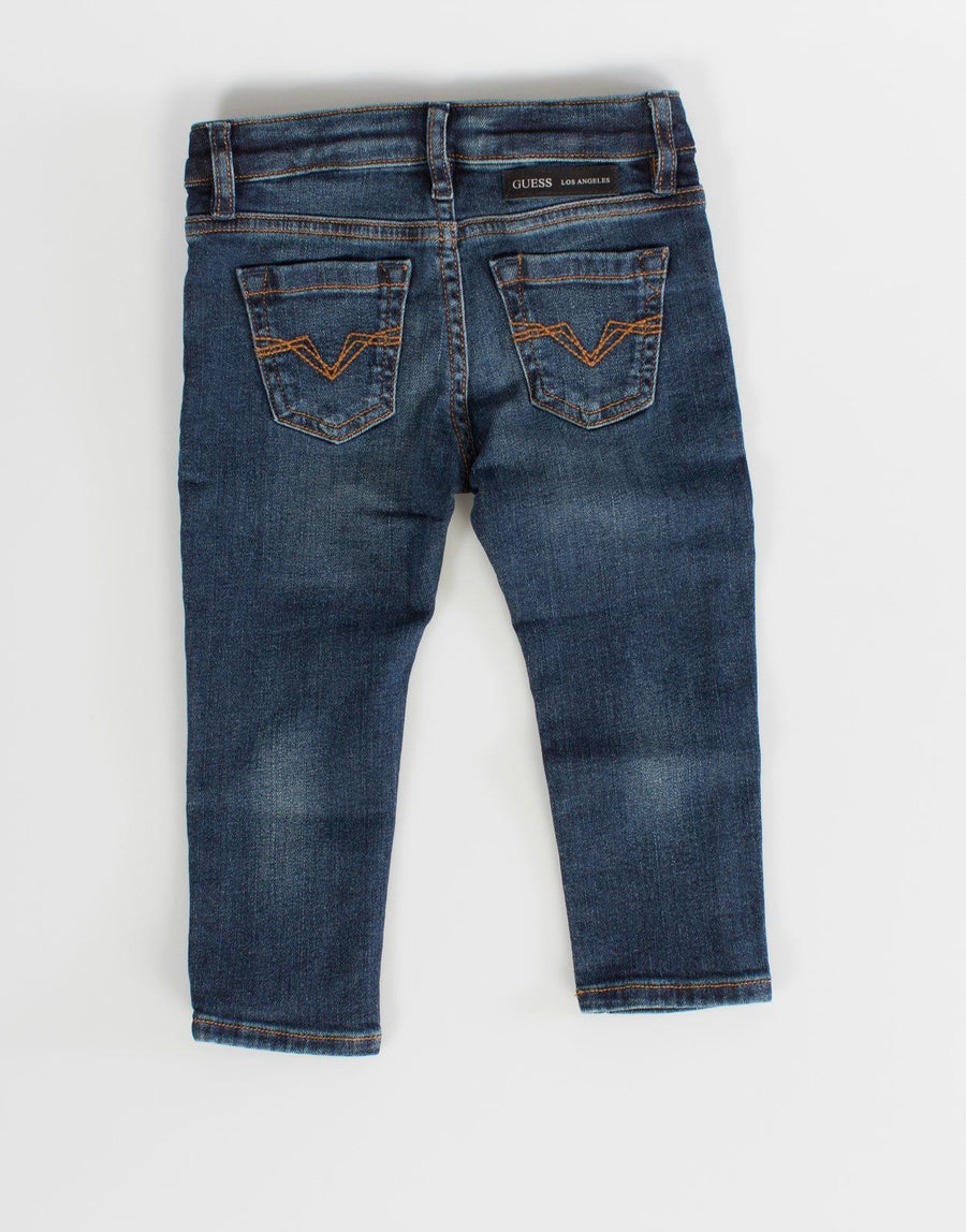 Guess Kids Boys Blue Skinny Jeans - Subwear