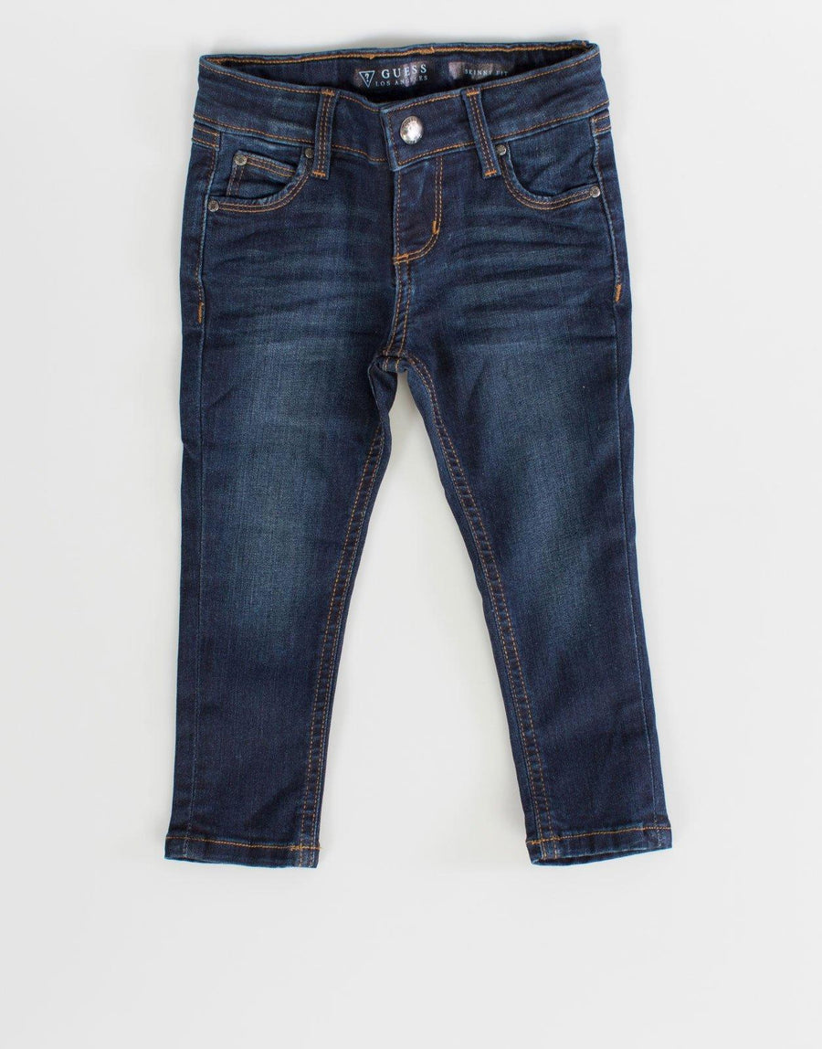 Guess Kids Girls Blue Skinny Jeans - Subwear