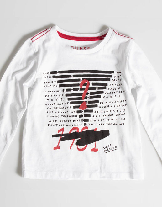 Guess Kids Crossed Out T-Shirt - Subwear