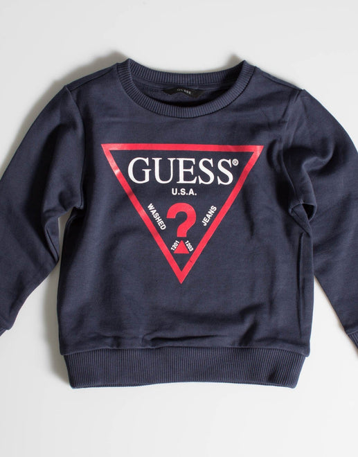 Guess Kids Crew Neck Active Top - Subwear