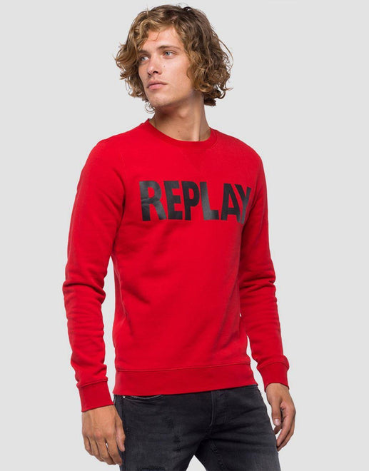 Replay Red Sweater