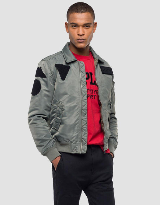 Replay Military Bomber Jacket