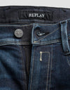 Replay Hyperflex Blue Black Ed Jeans